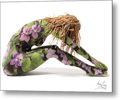 Spring Awakens Sculpture Metal Print