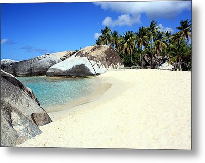 Spring Bay Virgin Gorda Metal Print by Laura Hiesinger
