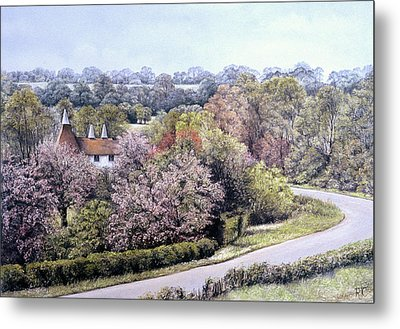 Spring Blossom Metal Print by Rosemary Colyer