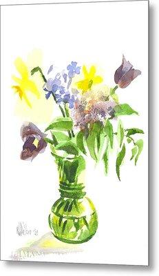 Spring Bouquet IIi Metal Print by Kip DeVore