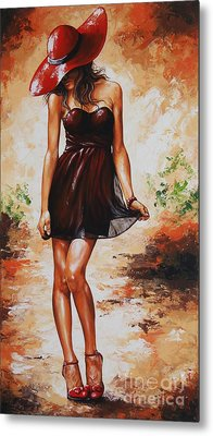 Spring Breeze 04 Metal Print by Emerico Imre Toth