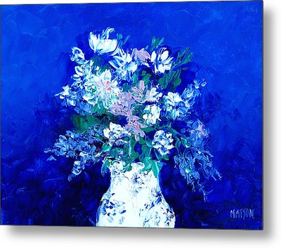 Spring Bunch Metal Print