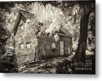 Spring Creek Mill Metal Print by Paul W Faust -  Impressions of Light
