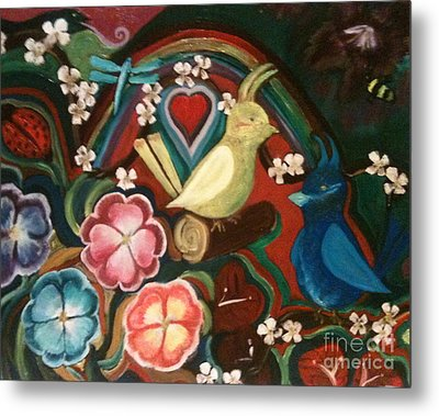Spring Metal Print by Denise Tomasura