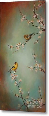 Spring Dream Metal Print by Lori  McNee