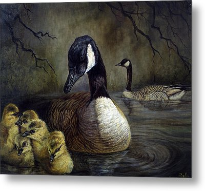 Spring Family Metal Print by Gregory Perillo