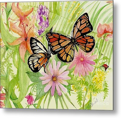 Spring Fancy Metal Print