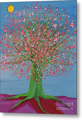 Spring Fantasy Tree By Jrr Metal Print