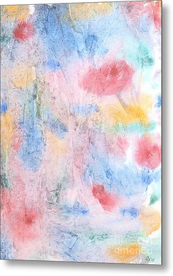 Metal Print featuring the photograph Spring Garden by Susan  Dimitrakopoulos