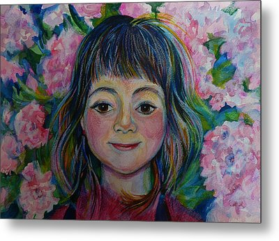 Spring Girls. Part One Metal Print by Anna  Duyunova