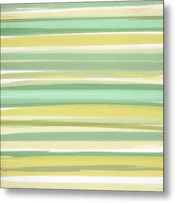 Spring Green Metal Print by Lourry Legarde