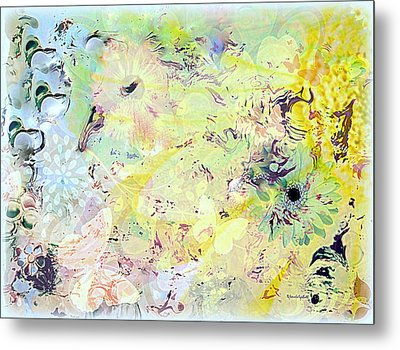 Spring Happiness Metal Print by YoMamaBird Rhonda