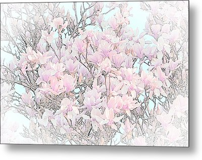 Metal Print featuring the photograph Spring Has Arrived I by Susan  McMenamin