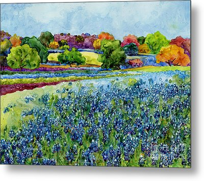 Spring Impressions Metal Print by Hailey E Herrera