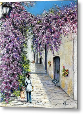 Spring In Andalucia Metal Print by Rosemary Colyer