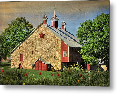 Spring In Juniata County Metal Print by Lori Deiter