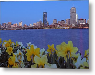 Spring Into Boston Metal Print by Juergen Roth