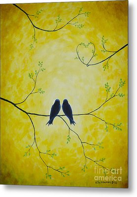 Spring Is A Time Of Love Metal Print by Veikko Suikkanen