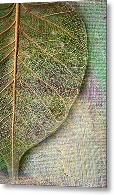 Spring Leaf Metal Print