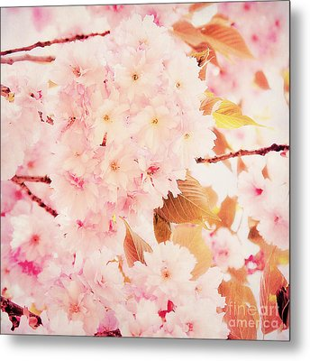 Spring Love Metal Print by Angela Doelling AD DESIGN Photo and PhotoArt