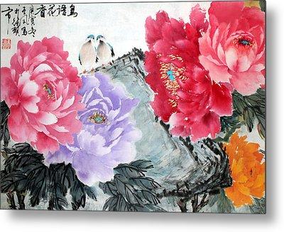Spring Melody Metal Print by Yufeng Wang