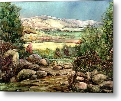 Metal Print featuring the painting Spring by Mikhail Savchenko