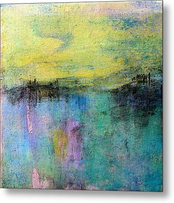 Metal Print featuring the painting Spring Morning by Jim Whalen