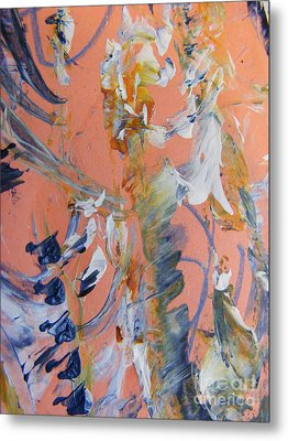 Metal Print featuring the painting Spring by Nancy Kane Chapman
