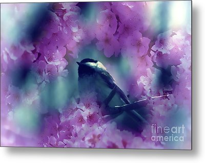 Spring Rhapsody Blossoms Metal Print by Cathy  Beharriell
