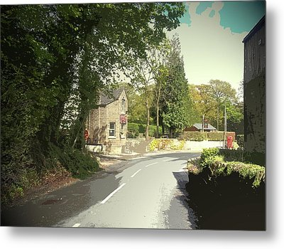 Spring Scene At Millthorpe, Spring Scene At Millthorpe Metal Print by Litz Collection