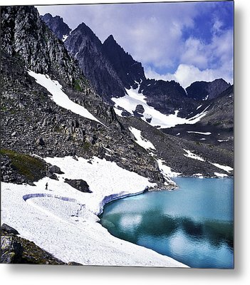 Spring Time In The Mountains Metal Print