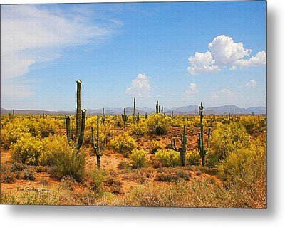 Metal Print featuring the digital art Spring Time On The Rolls. by Tom Janca