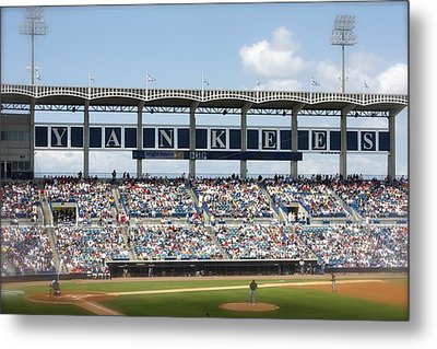 Spring Training Metal Print by Michael Albright