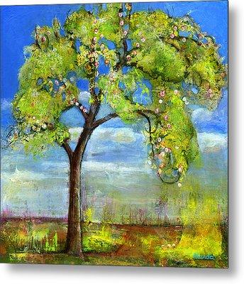 Spring Tree Art Metal Print