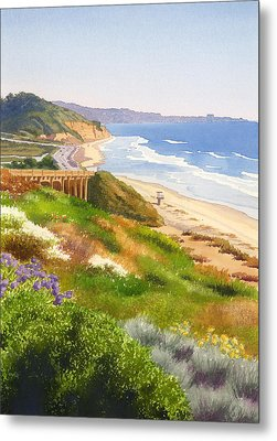 Spring View Of Torrey Pines Metal Print