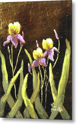 Metal Print featuring the painting Spring Wonder by Vic  Mastis