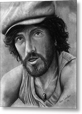 Springsteen Metal Print