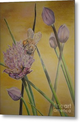 Springtime Glow Metal Print by Laurianna Taylor