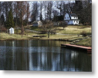Springtime In Ohio Metal Print by Tom Mc Nemar