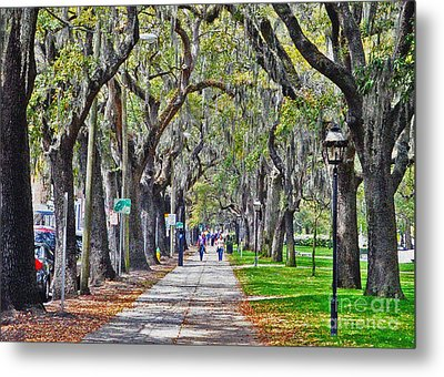 Springtime In Savannah Metal Print
