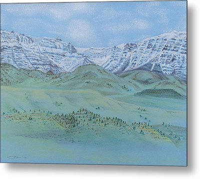 Springtime In The Rockies Metal Print by Michele Myers