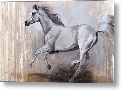 Sprint Metal Print by JQ Licensing