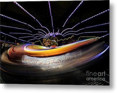 Spun Out 2 Metal Print