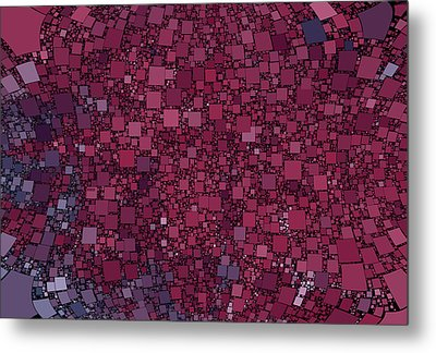 Square Universe Metal Print by Steve K