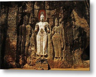 Sri Lanka, Ella, Dhowa Rock Temple Metal Print