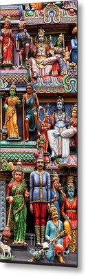 Sri Mariamman Temple 03 Metal Print by Rick Piper Photography