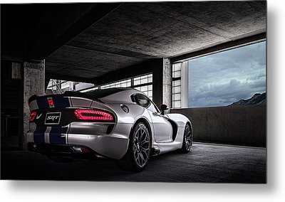 Srt Viper Metal Print by Douglas Pittman