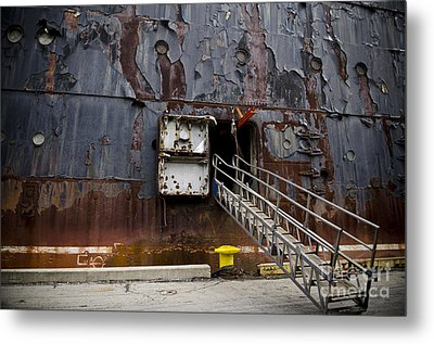 Ss United States - All Aboard Metal Print by Jessica Berlin