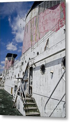 Ss United States Smokestakes By Jessica Berlin Metal Print by Jessica Berlin