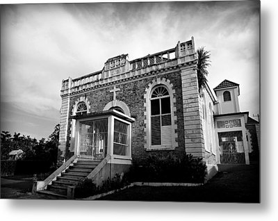 St Ann's Bay Baptist Church Metal Print by Stephen Stookey